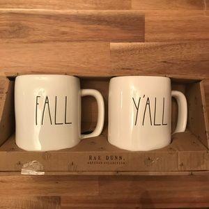 Rae Dunn Fall Mug Set